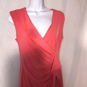 Enfocus studio salmon color dress